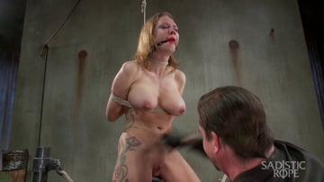 Rain DeGrey - Fucking up Rain DeGrey with insane bondage and brutal torment