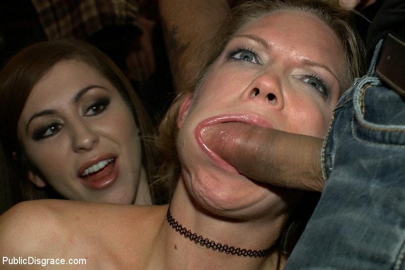 Kink 'Rain Degrey Cums Like a Demon in a Crowded Bar' starring Rain DeGrey (Photo 12)
