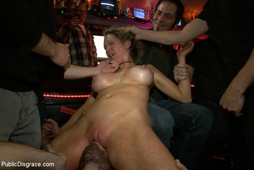 Kink 'Rain Degrey Cums Like a Demon in a Crowded Bar' starring Rain DeGrey (Photo 13)