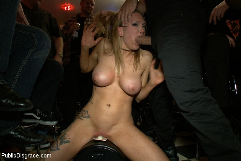 Kink 'Rain Degrey Cums Like a Demon in a Crowded Bar' starring Rain DeGrey (Photo 14)