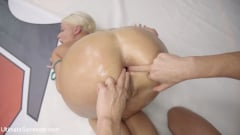 Rizzo Ford - Beautiful, Powerful Blonde Wrestler is Destroyed on the Mats (Thumb 12)