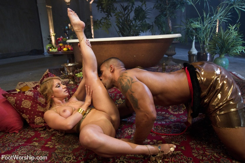 Kink 'Exotic Foot Worship With Goddess Lea' starring Lea Lexis (Photo 7)