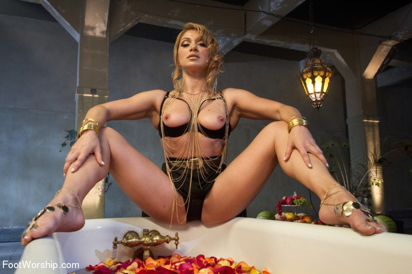 Kink 'Exotic Foot Worship With Goddess Lea' starring Lea Lexis (Photo 19)