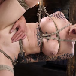 Rocky Emerson in 'Kink' Back in Session! Rocky Emerson Fucked in Suspension for First Time (Thumbnail 20)