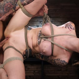 Rocky Emerson in 'Kink' Back in Session! Rocky Emerson Fucked in Suspension for First Time (Thumbnail 23)