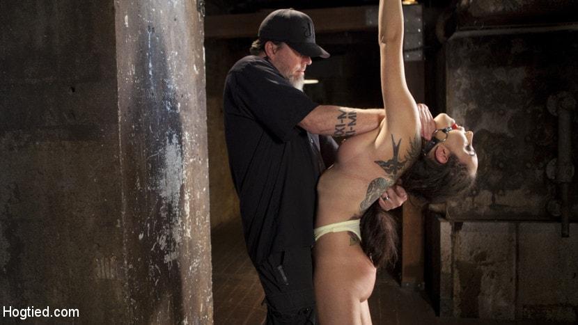Kink 'College Brat Gets Devastating Torment in Grueling Bondage' starring Roxanne Rae (Photo 3)