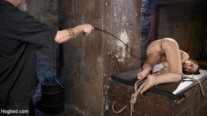 Kink 'College Brat Gets Devastating Torment in Grueling Bondage' starring Roxanne Rae (Photo 9)