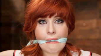 Sadie Kennedy in '18 Year Old Redhead Slut Fucked Silly in Tight Bondage'