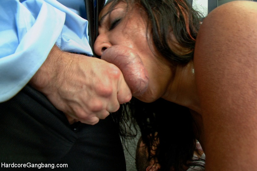 Kink 'Step-father offers her up to 5 guys in order to seal a business deal.' starring Sadie Santana (photo 6)