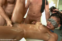 Sadie Santana - Step-father offers her up to 5 guys in order to seal a business deal. (Thumb 04)