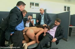 Sadie Santana - Step-father offers her up to 5 guys in order to seal a business deal. (Thumb 16)
