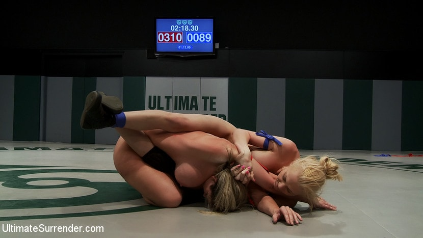 Kink 'Tiny Blond vs Monster Boobage A modern day David and Goliath, where Goliath has Monster EE tits' starring Samantha Sin (Photo 3)