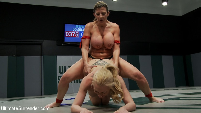 Kink 'Tiny Blond vs Monster Boobage A modern day David and Goliath, where Goliath has Monster EE tits' starring Samantha Sin (Photo 7)