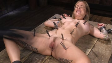 Sammie Six - Fresh Meat: Sammie Six Shackled in Grueling Bondage