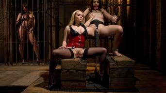 Sarah Shevon in 'Lezdom Chastity Cuckold'