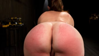 Sasha in 'Made to suffer, made to cum - restrictive bondage equals squirting orgasm'