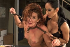 Savannah Fox - Sadistic Lesbian Prison: Squirting, anal and fisting! (Thumb 08)