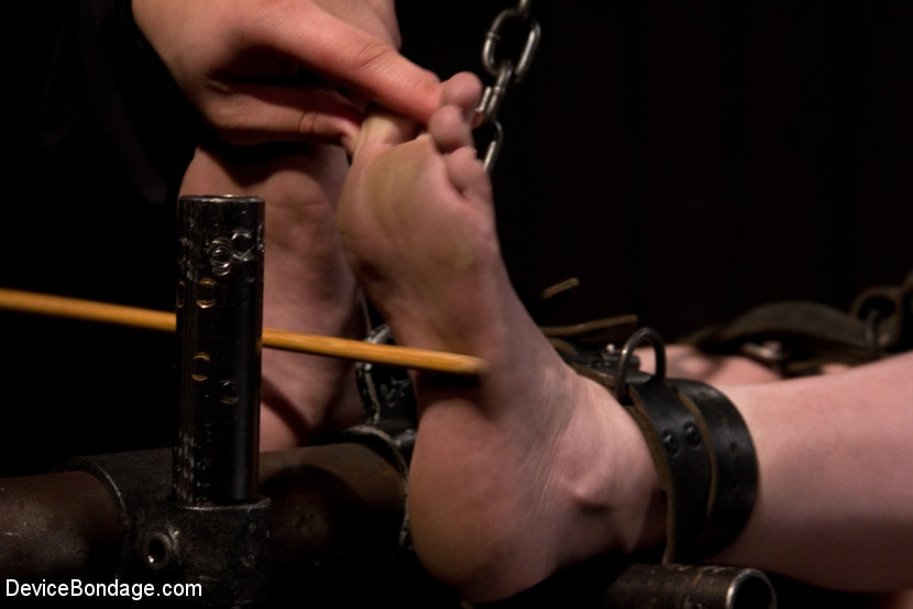 Kink 'is ass-fucked, whipped and caned in hard bondage.' starring Seda (Photo 14)