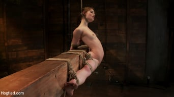 Sensi Pearl in 'Girl next door, severely bound and helpless Stripped, elbows bound, legs split, multi-orgasms!'