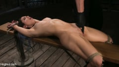 Serena Blair - Girl Next Door Serena Blair Restrained and Made to Cum in Rope Bondage (Thumb 07)