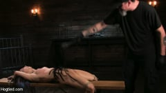Serena Blair - Girl Next Door Serena Blair Restrained and Made to Cum in Rope Bondage (Thumb 09)