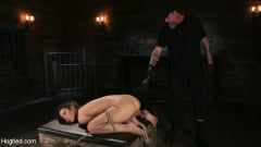 Serena Blair - Girl Next Door Serena Blair Restrained and Made to Cum in Rope Bondage (Thumb 15)