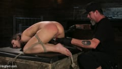 Serena Blair - Girl Next Door Serena Blair Restrained and Made to Cum in Rope Bondage (Thumb 18)
