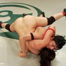 Sheena Ryder in 'Kink' Rough Rider takes on the veteran Pistol in her first match. (Thumbnail 8)