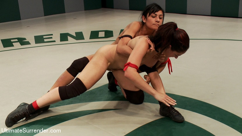 Kink 'Rough Rider takes on the veteran Pistol in her first match.' starring Sheena Ryder (Photo 17)