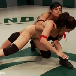 Sheena Ryder in 'Kink' Rough Rider takes on the veteran Pistol in her first match. (Thumbnail 17)
