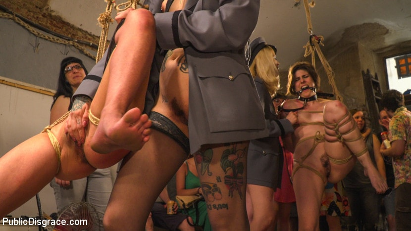 Kink 'Pet Bitches Disgraced on Public Walk' starring Silvia Rubi (Photo 12)