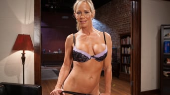 Simone Sonay in 'The Training of a Domestic MILF, Day One'
