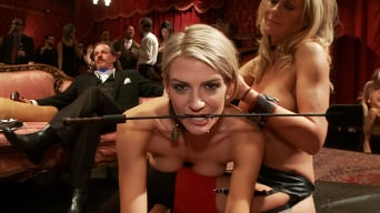 Simone Sonay in 'Two Blonde Slaves Serve One Hard Cock'