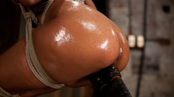 Skin Diamond in 'Hot and Tight Skin Diamond Pushed To The MAX At HogTied.com'