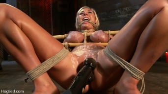 Skylar Price in 'Skylar Price: Blond Bombshell Bamboo Bound'