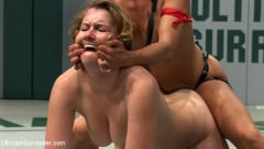 Sofia Lauryn - Hot Island girl takes on big blond bully. Blond bully gets her ass kicked, then brutally fucked. (Thumb 08)