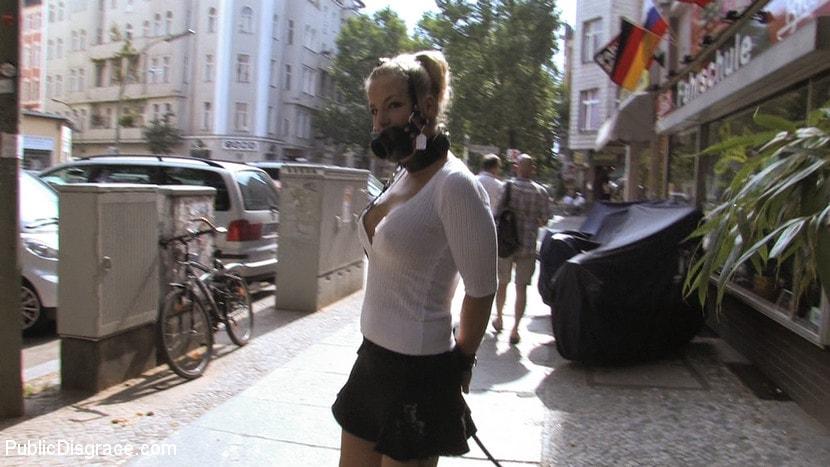 Kink 'Hot German Blonde gets fucked in public' starring Steffanie van Eckten (Photo 6)