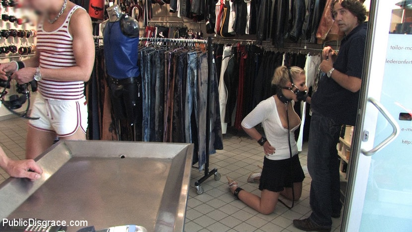 Kink 'Hot German Blonde gets fucked in public' starring Steffanie van Eckten (Photo 11)