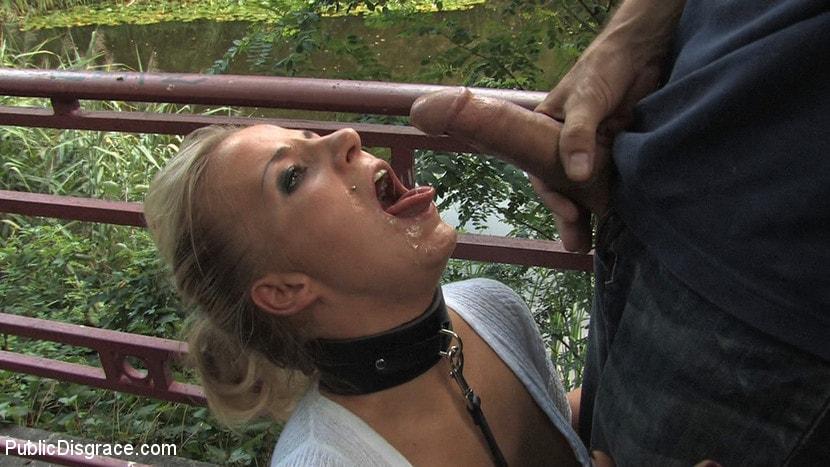Kink 'Hot German Blonde gets fucked in public' starring Steffanie van Eckten (Photo 14)