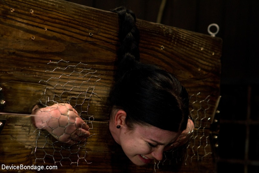 Kink 'Curvy broad suffers for orgasms then strung up by hair suspension.' starring Sybil Hawthorne (Photo 15)