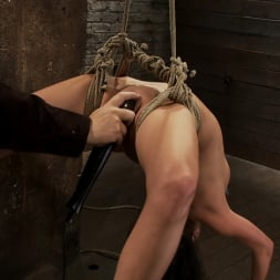 Tessa Taylor in 'Kink' Sexy girl next door is bound and suspended, stretched to the limits of the human body So helpless! (Thumbnail 6)