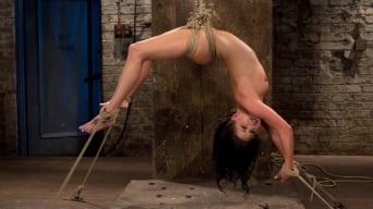 Tessa Taylor in 'Sexy girl next door is bound and suspended, stretched to the limits of the human body So helpless!'