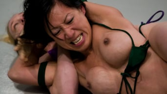 Tia Ling in 'Darling The Grappler (1-0) vs Tia JADE Ling'