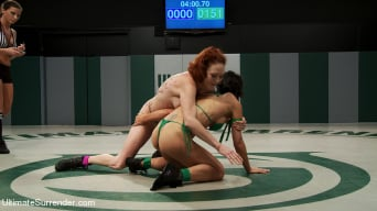 Tia Ling in 'Feather Weight 100lb vet takes on Light Weight Rookie and Destroys her'