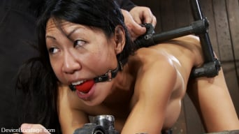 Tia Ling in 'Such a tiny ass, such a huge machine cock!'