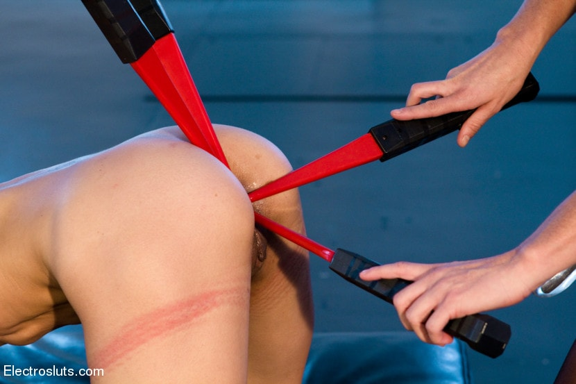 Kink 'takes Hard Electrosex with Double Penetration!' starring Tia Ling (Photo 15)