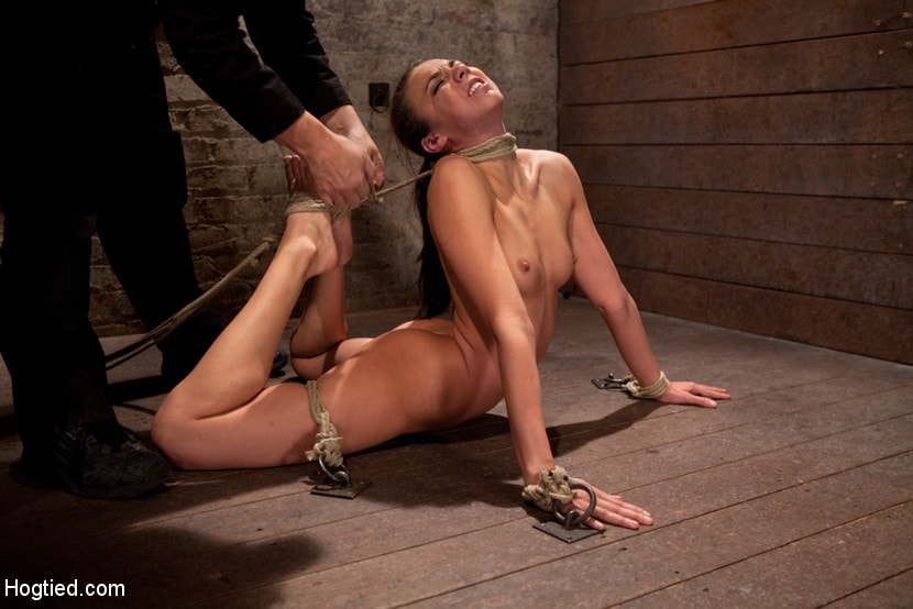 Kink 'Girl next door is bound in basement, her back pulled to the breaking point, can she keep conscious' starring Tiffany Tyler (Photo 3)