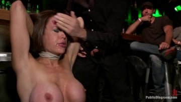 Princess Donna Dolore - Big Tittied McKenzie Lee is Disgraced in Public Bar
