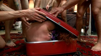 Odile in 'The Groupie: Featuring Odile in her First Gangbang Ever!'