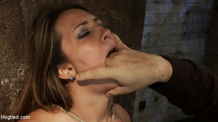 Kink 'How to manhandle a slut 101: Big tits, sexy face, no gag reflex. This is how you fuck up a bitch.' starring Trina Michaels (Photo 14)